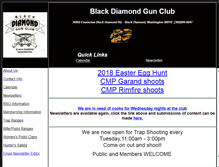 Tablet Preview of blackdiamondgunclub.org